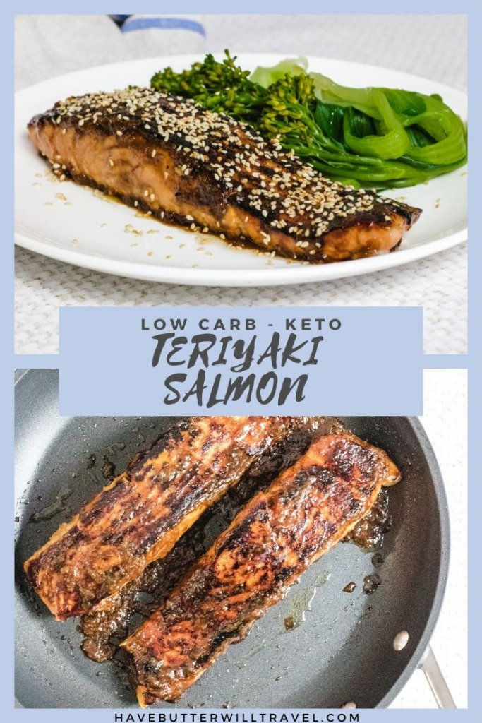If you are looking for the best keto salmon recipe with lots of flavour make sure you give this keto teriyaki salmon a try. #ketosalmon #ketoteriyakisalmon #ketodinner #ketoseafood