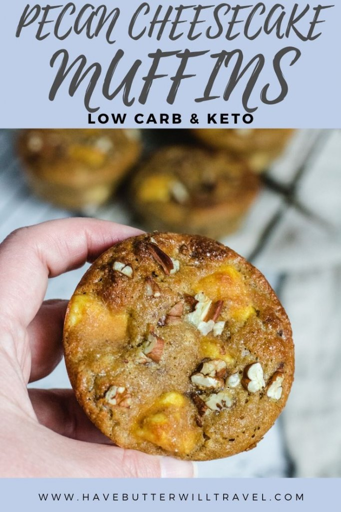 Muffins are a great for when you need quick sweet fix. These sweet keto cheesecake muffins are popular with kids and the non keto family members. #ketomuffins #lowcarbmuffins #cheesecakemuffins