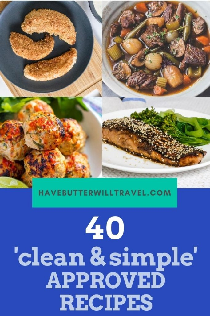Have you been doing the clean and simple reset andhave been looking for clean & simple low carb recipes? Here is 40 great recipes for you. #cleanandsimple #cleanandsimplereset #cleanandsimplelowcarbreset