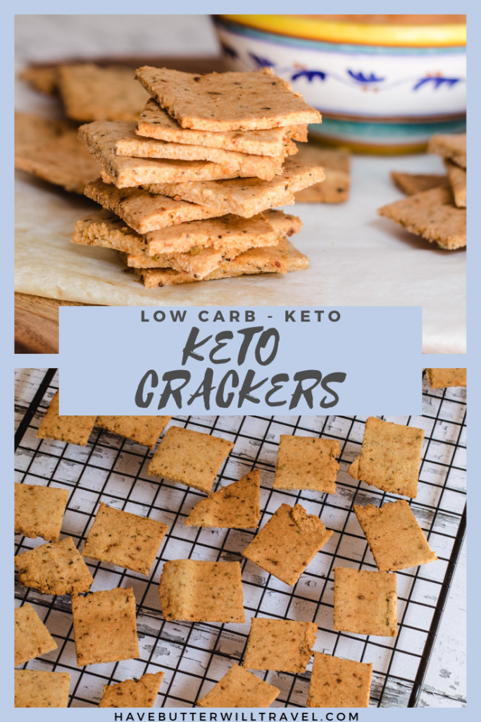 If you have been looking for the perfect keto cracker, this is the keto cracker for you. It has the perfect crunch and can hold up to dip. #ketocrackers #ketocrackersrecipe #bestketocrackers