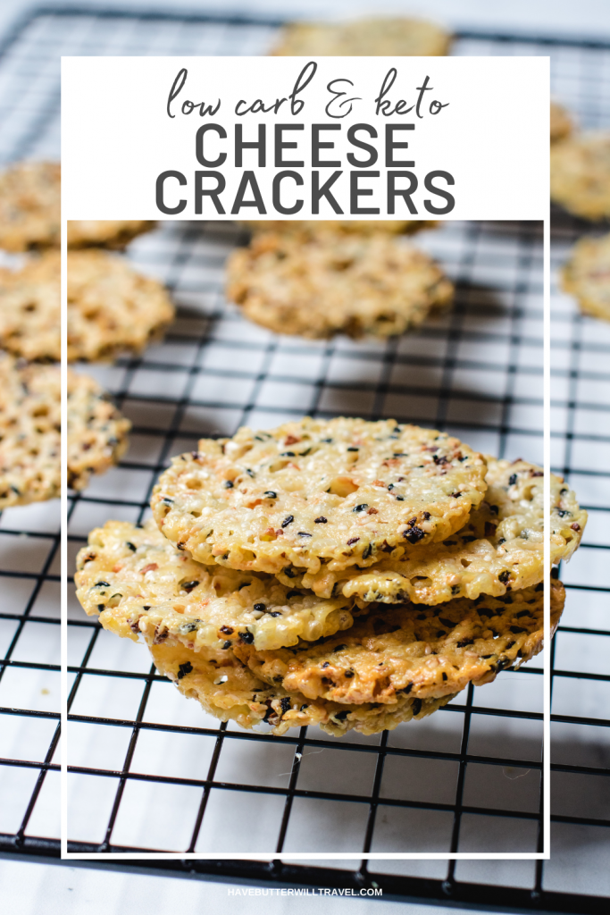 These keto cheese crisps are prefect to have with dip or on a grazing platter. If you are missing crunch of a good crisp these give crunch.